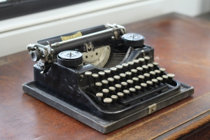 Richmal Crompton's typewriter (University of Roehampton archive)